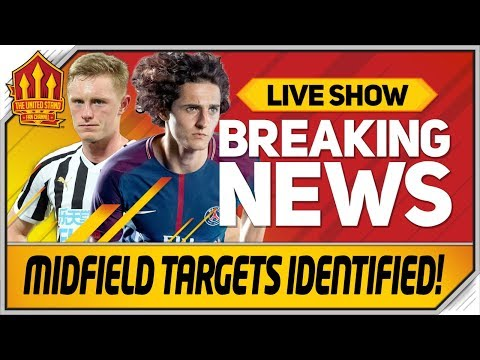Pogba Out Longstaff & Rabiot In? Man Utd Transfer News Now