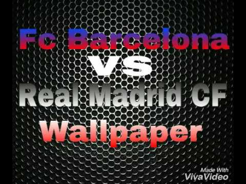 FC Barcelona vs Real Madrid CF Wallpaper