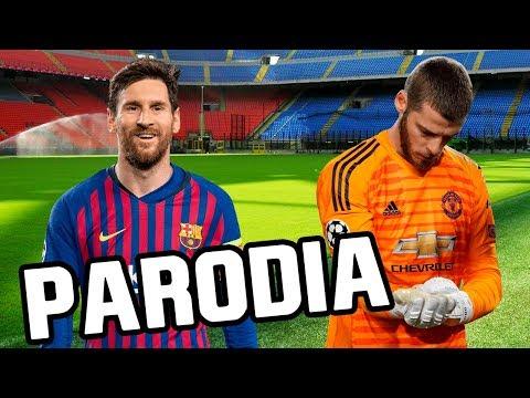 Canción Barcelona vs Manchester United 3-0 (Parodia Con Altura – J Balvin, ROSALÍA)