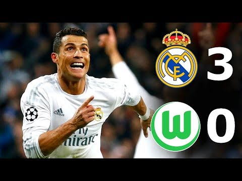 Real Madrid vs Wolfsburg 3-0 – All Goals & Full Highlights 2016