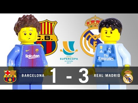 LEGO Final Supercopa 2017 BARCELONA – REAL MADRID Ida