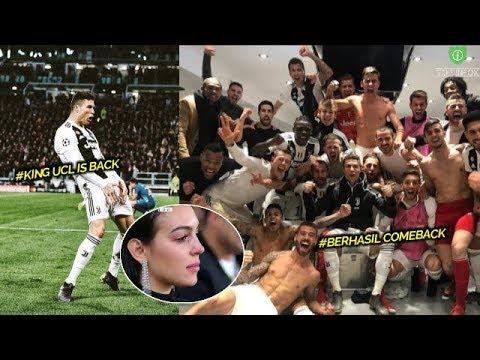 DRAMATIS | HATTRICK CRISTIANO RONALDO BAWA JUVENTUS LOLOS KE BABAK  8 BESAR LIGA CHAMPIONS 2019