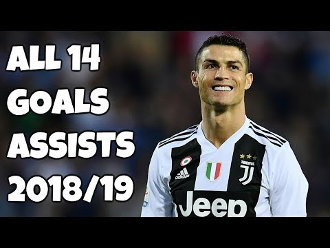 Cristiano Ronaldo All 14 Goals & Assists – Juventus 2018/19