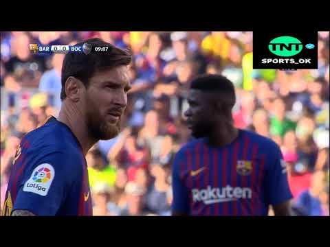 BARCELONA VS BOCA JRS (3-0) PARTIDO COMPLETO HD 2018