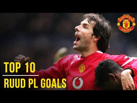 Ruud van Nistelrooy's Top 10 Premier League Goals | Manchester United