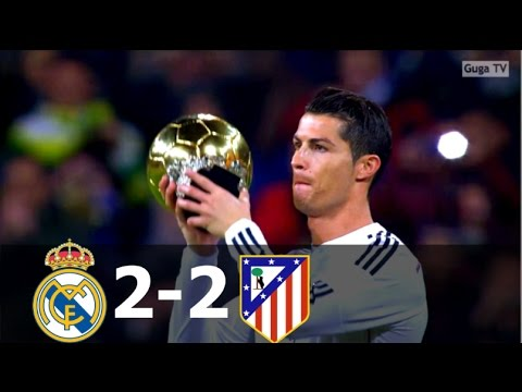 Real Madrid vs Atletico Madrid 2-2 – HD 1080i – CDR 2015 (2nd Leg) – Full Highlights