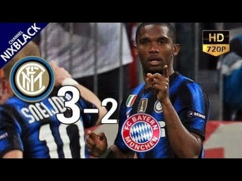 ► Inter Milan 3-2 Bayern Munich 2011 UCL Round of 16 2nd Leg All Goals & Extended Highlight HD/720P