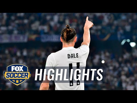 Gareth Bale sends Real Madrid into the Club World Cup final | 2018 FIFA Club World Cup Highlights