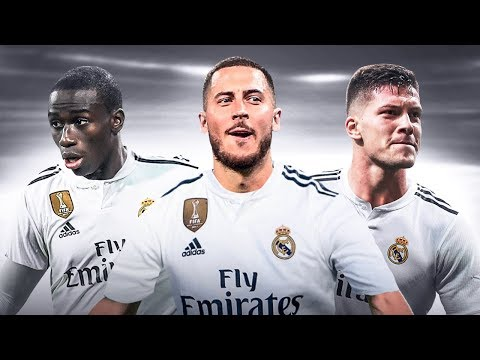 The Crazy Real Madrid Line-up with Eden Hazard 2019/20