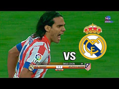 El día que FALCAO Destruyo al Real Madrid