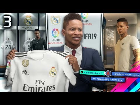 FIFA 19 THE JOURNEY Episode #3 – SIGNING FOR REAL MADRID!  (The Journey Full Movie Series)