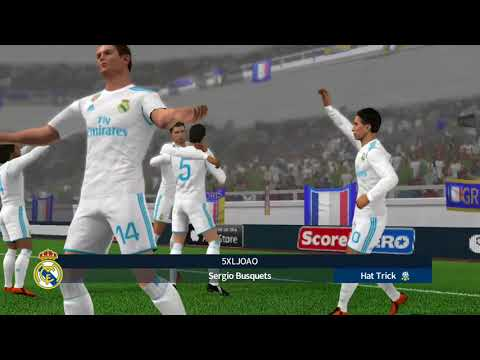 Real Madrid VS France International cup dream league soccer 2018