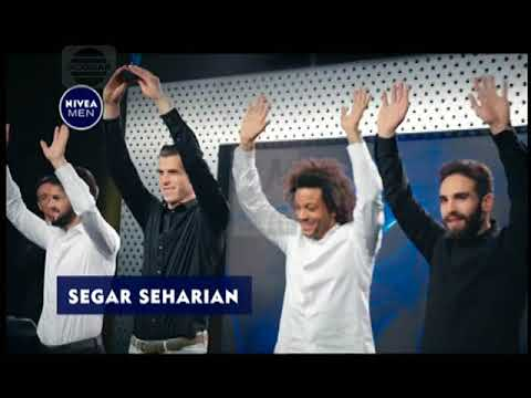 Iklan Nivea Men Black & White Deodorant – Arms Up ft Real Madrid 15s (2017)