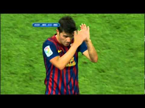 Barcelona vs Real Madrid / full match 2nd half 17.08.11