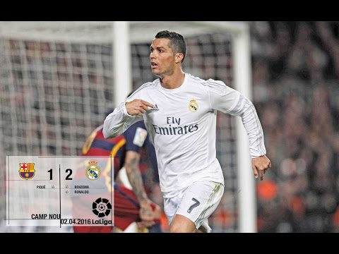 Barcelona 1-2 Real Madrid (La Liga 2015/16, matchday 31)