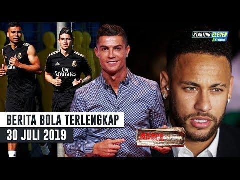 Ronaldo Ingin Kembali ke Madrid 😱 Neymar Lolos Dari Tuduhan 🤔 James Rodriguez Hari Pertama Latihan