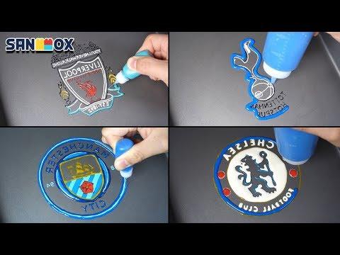 Premier League Ranking Teams Logo Pancake art – Liverpool, Tottenham, Manchestercity, Chelsea
