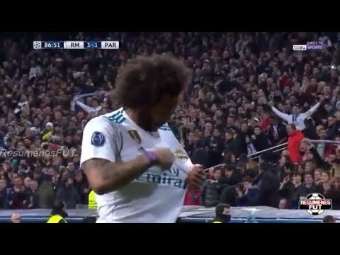 Real Madrid vs PSG 3-1 Goles y Resumen Champions League Octavos de Final 2018