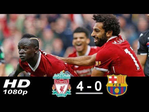 Liverpool vs Barcelona 4-0 All Goals & Highlights 2017/2018 HD