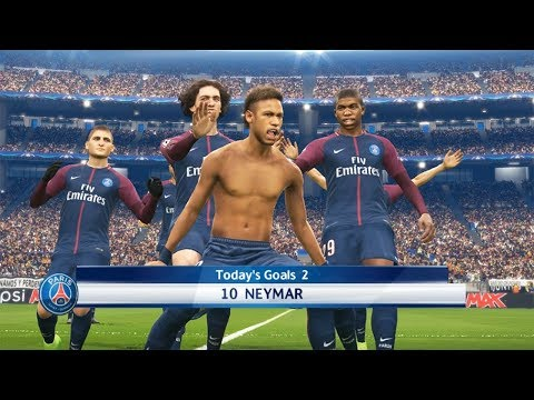 REAL MADRID VS PSG | UEFA Champions League (UCL) knockout | PES 2018