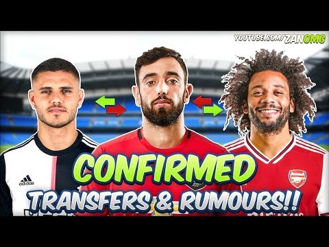 LATEST CONFIRMED TRANSFERS & RUMOURS 2019/20!! #4