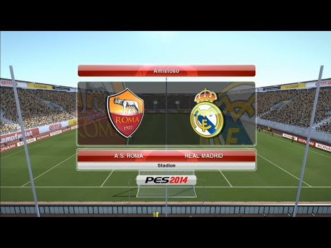 Roma vs Real Madrid – ICC Pretemporada PES2014