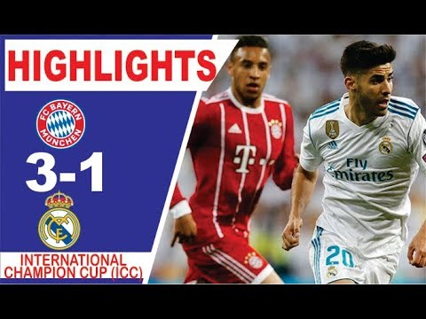 Bayern vs Real Madrid 3-1 International Champions Cup  Highlights and Goals 20/07/2019