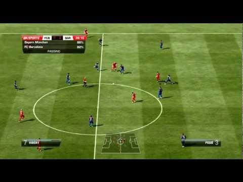Barcelona V Bayern Munich Fifa 12