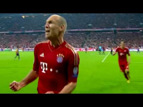 Bayern Munich vs FC Barcelona 4-0 Highlights 2012-13 HD 720p (English Commentary)