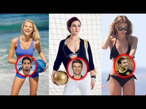 Germany Football Players Hottest Wags ( wife ) & girlfriend 2017.
