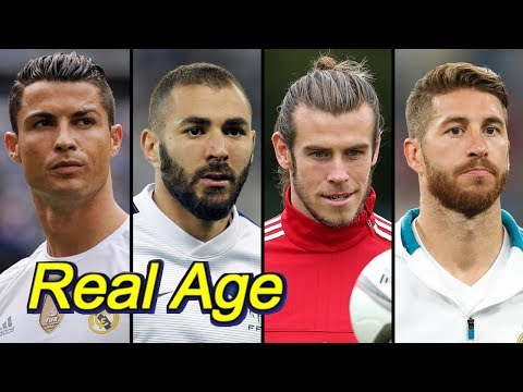 Real Age Of Real Madrid C.F. Players