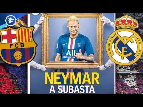 La guerre Real Madrid-Barça est déclarée pour Neymar | Revue de presse