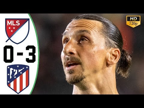 MLS All Stars vs Atletico Madrid 0-3 All Goals & Highlights 01/08/2019 HD