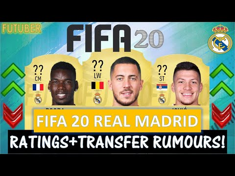 FIFA 20 | REAL MADRID PLAYER RATINGS!! FT. HAZARD, POGBA, JOVIC ETC… (TRANSFER RUMOURS INCLUDED)