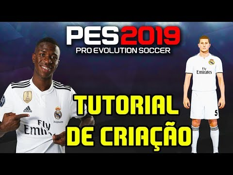 TUTORIAL – UNIFORME REAL MADRID PES 2019 – KITS REAL MADRID PES 2019