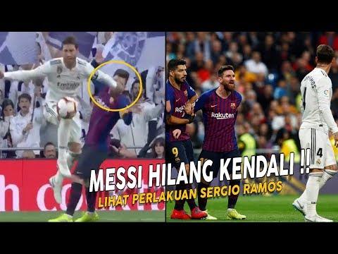 Inilah yang Terjadi antara Messi dan Sergio Ramos Saat Real Madrid Kembali Bertemu Barcelona