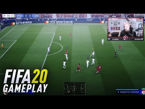 OFFICIAL FIFA 20 GAMEPLAY REVEAL! – FIFA 20 (LIVERPOOL v REAL MADRID)