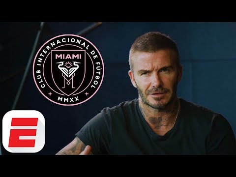 David Beckham Launches Inter Miami CF Francise In MLS