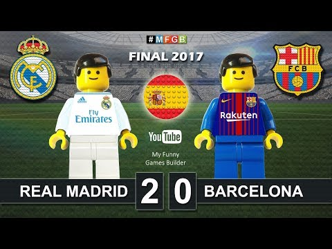 Supercopa de España 2017 • Real Madrid vs Barcelona 2-0 (5-1) • Spanish Super Cup Lego Football Film