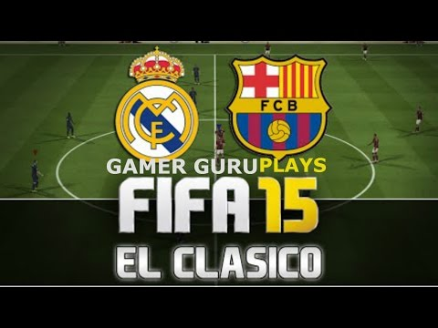 Next-Gen Fifa 15 gameplay -Barcalona vs Real Madrid