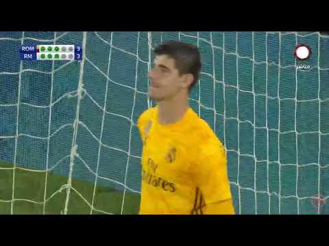 Real madrid vs Roma 4-5 Penalty shootout 11-8-2019