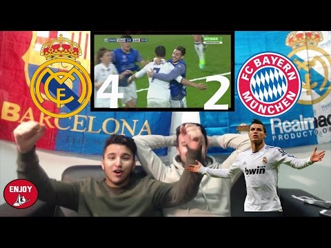 LIONEL MESSI FAN REACTS TO CR7 KICKING BAYERN MUNICH PERSONALLY OUT OFF CL 4-2 – LIVE REACTION