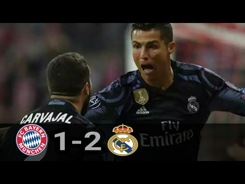 Hasil Bayern Munich vs Real Madrid 1-2 | Higlights Liga Champions Leg 1 (13/04/2017)