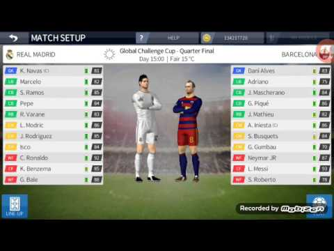 Real madrid vs barcelona (dream league soccer 2016)