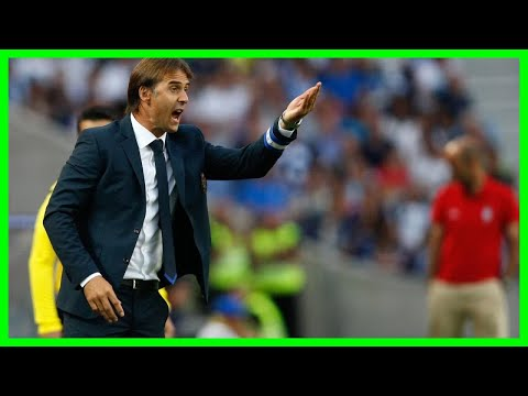 [2018 NEWS]Julen Lopetegui: Real Madrid name Spain manager as new head coach