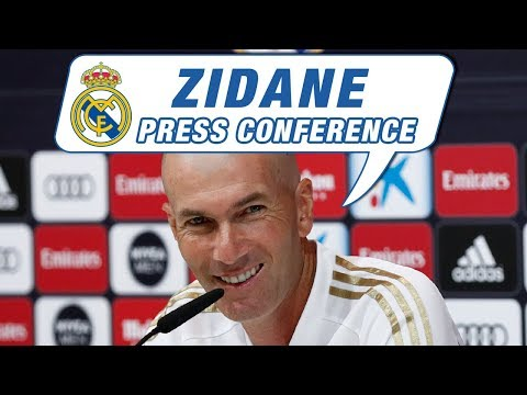 LIVE | Zidane's press conference before Celta vs Real Madrid