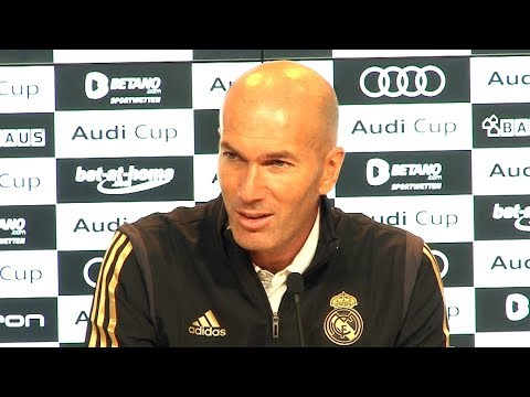 Tottenham 1-0 Real Madrid – Zinedine Zidane Post Match Press Conference – Audi Cup