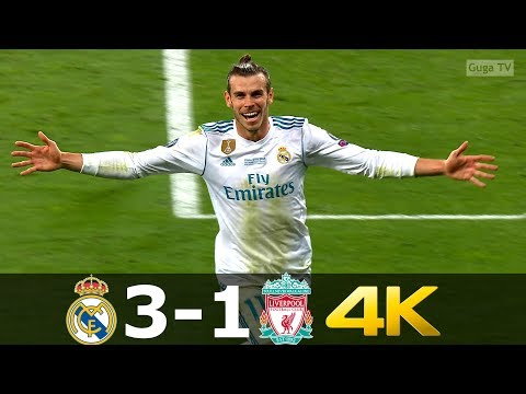 Real Madrid vs Liverpool 3-1 – UCL Final 2018 – Highlights UHD 4K