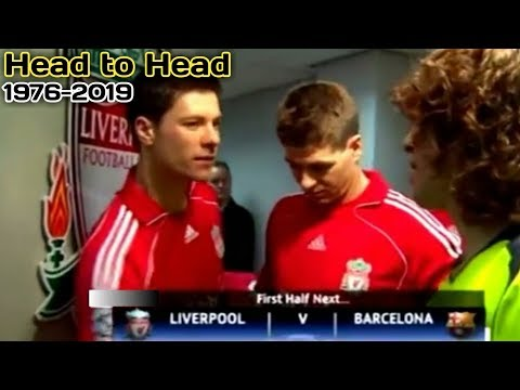 Sejarah Barcelona vs Liverpool Liga Champions | Head to Head Liverpool vs Barca