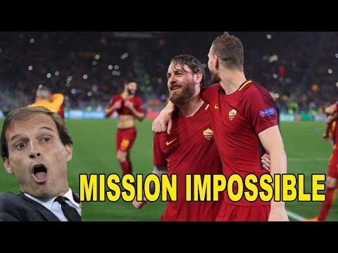MISSION IMPOSSIBLE – ROMA BARCA E REAL JUVE